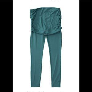 New with tags prAna rent leggings with skirt teal